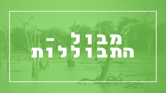 מבול – התבוללות | פרשת יהדות